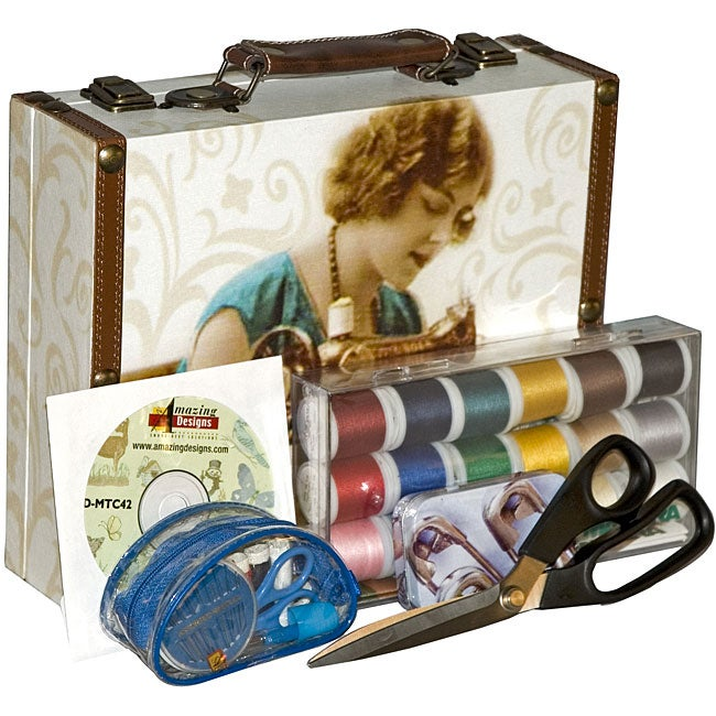 Retro Style Sewing Kit Free Shipping On Orders Over 45