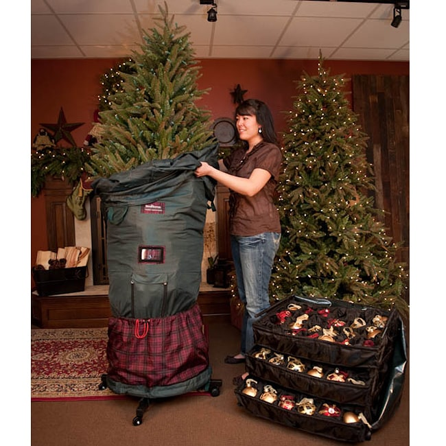 Treekeeper Upright 6- to 9-foot Christmas Tree Storage Bag - Shop Treekeeper Upright 6- To 9-foot Christmas Tree Storage Bag