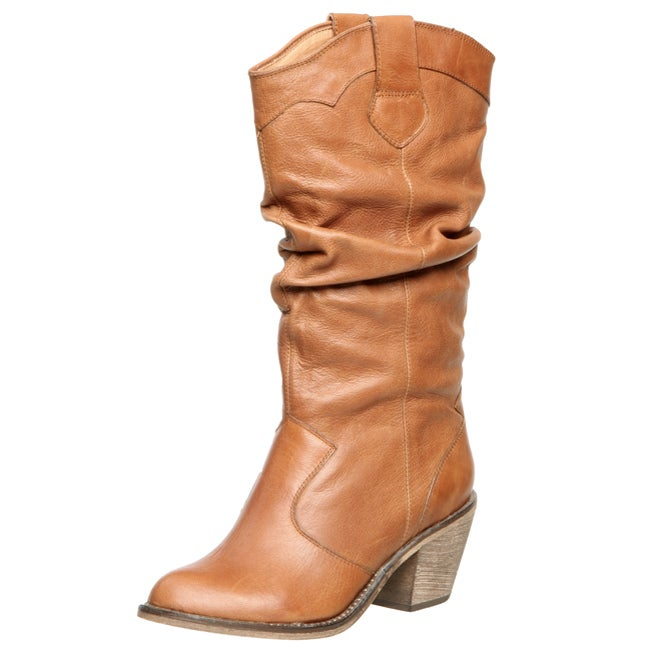 cf08f246398 Shop Steve Madden Women s  Gimbal  Tall Slouchy Boots - Free Shipping Today  - Overstock - 3715928