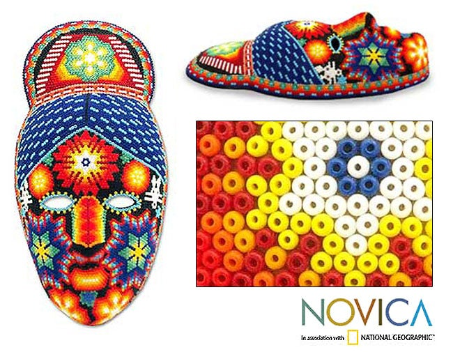 'Jicuri Crown' Mask (Mexico)
