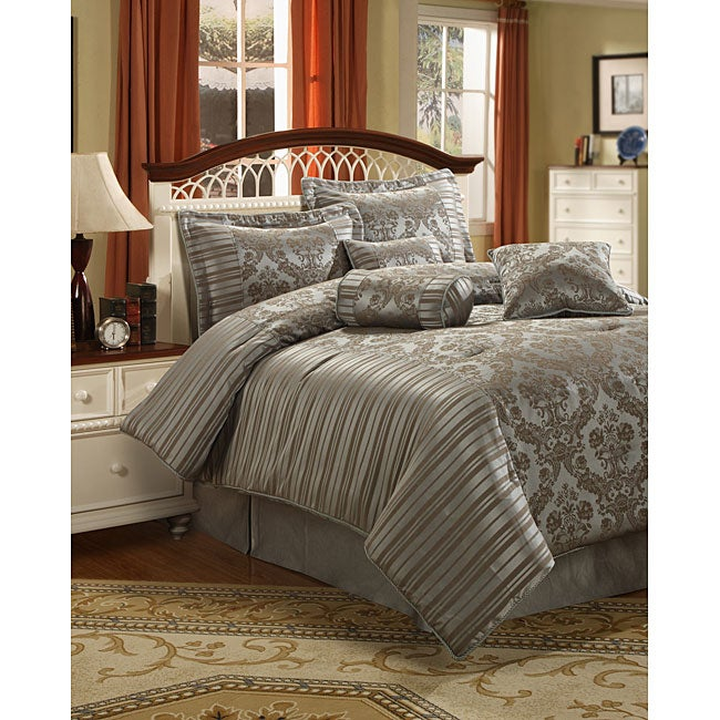 Ashcroft 7-piece Comforter Set - Thumbnail 0