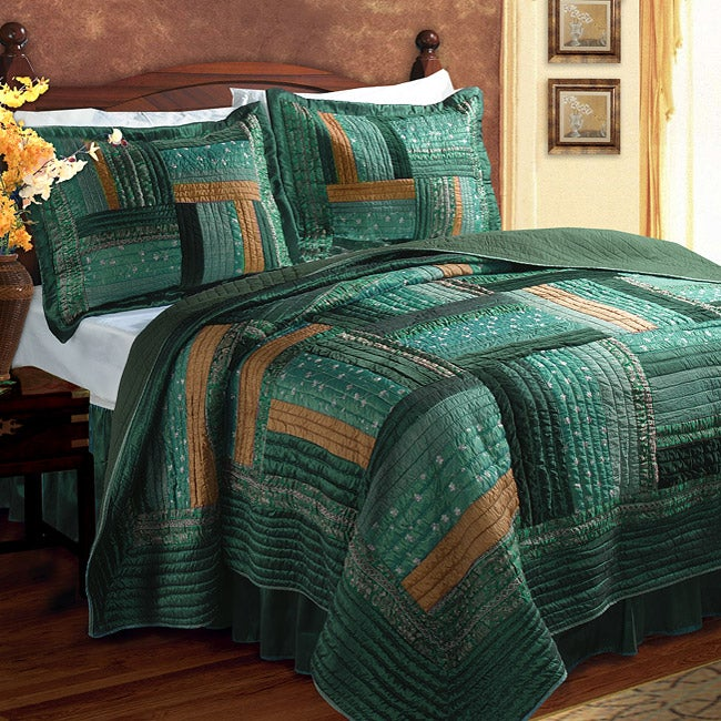 Greenland Home Fashions Ariel Quilt Set