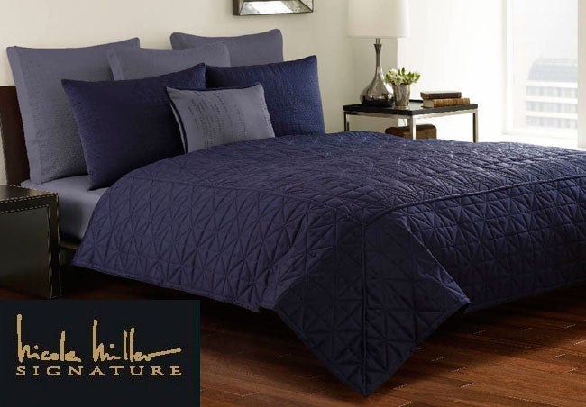 Nicole Miller X27 Facets Quilt Set