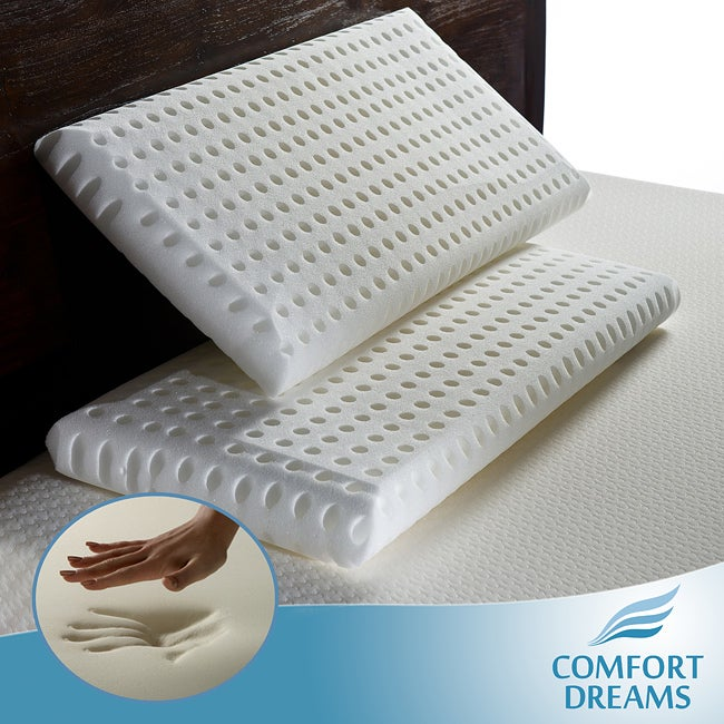 Cradling Comfort Elite Traditional Memory Foam Pillow : Comfort Dreams Super Soft Elite Feel King-size Memory Foam Pillows (Set of 2) - Free Shipping On ...