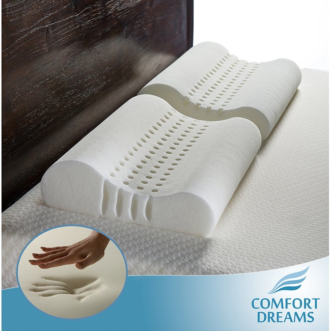Personal Anti-snore Contour Memory Foam Pillows (Set of 2) - Thumbnail 0