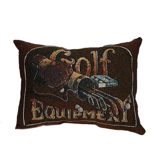 Golf Tapestry Throw Pillows (Set of 2)