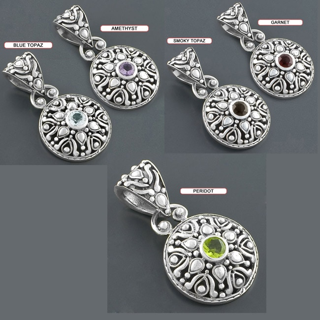 Handcrafted Sterling Silver Pendant (India)
