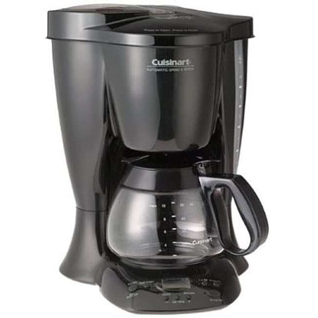 Cuisinart Coffee Maker Quit Brewing : Cuisinart DGB-300BK New Automatic Grind and Brew 10-cup Coffeemaker - Free Shipping Today ...