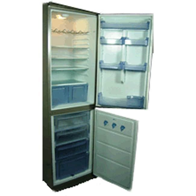 Conserv Tall Narrow White Refrigerator Freezer