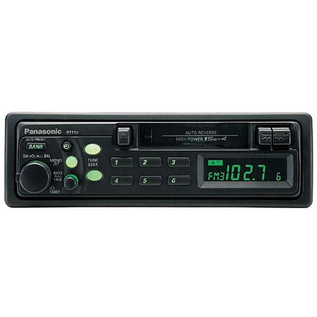Panasonic CQ-R111U Cassette Receiver