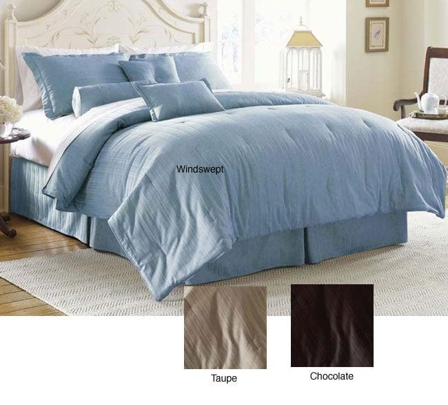 Cotton 300 Thread Count 7-piece Comforter Set