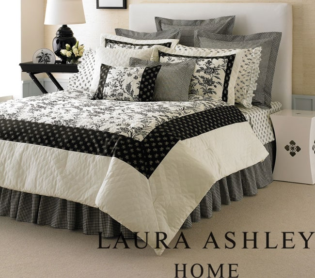 Laura Ashley Amberley 4-piece King-size Comforter Set