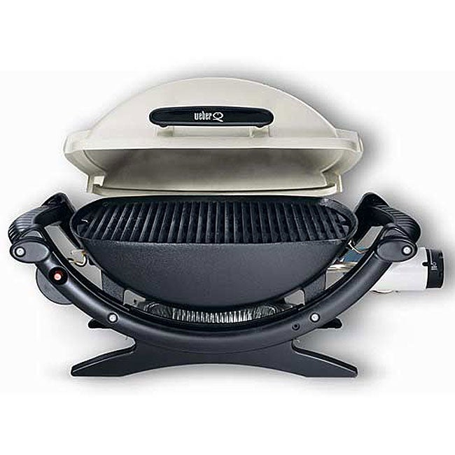 weber q 100 table top gas grill free shipping today 11890963. Black Bedroom Furniture Sets. Home Design Ideas