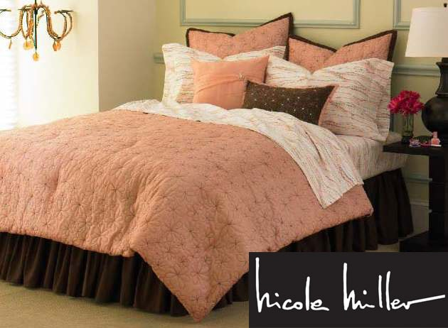 Nicole Miller Flora Doodle Full-size 10-piece Bed in a Bag
