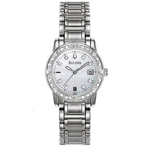 Bulova Women's Maestro Diamond Accented Watch