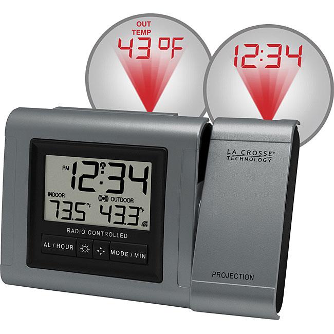 La Crosse Technology Projection Atomic Alarm Clock - Free ...