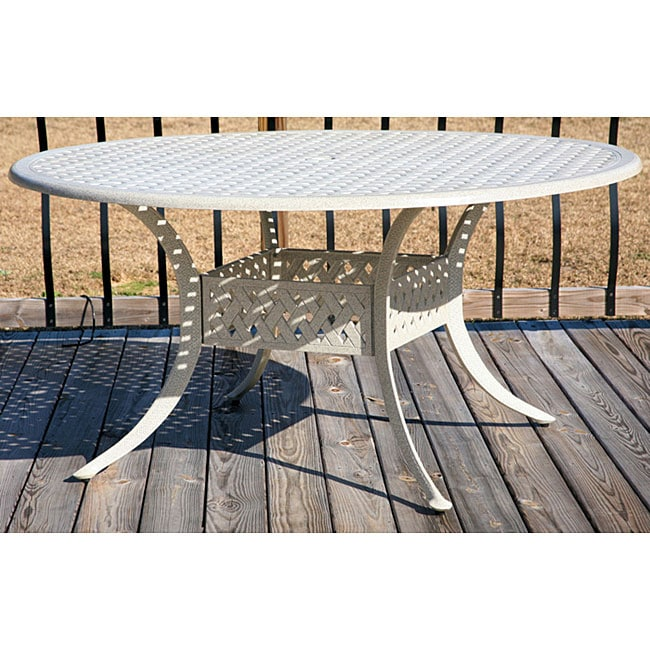sandstone 60 inch round dining patio table free shipping today