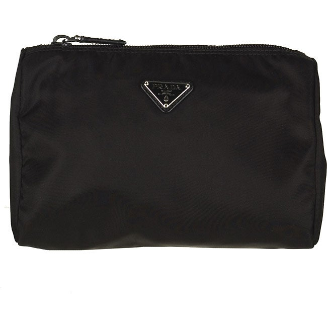 78f22542f7e8 Shop Prada Tessuto Vela Cosmetic Case - Free Shipping Today - Overstock -  3844485