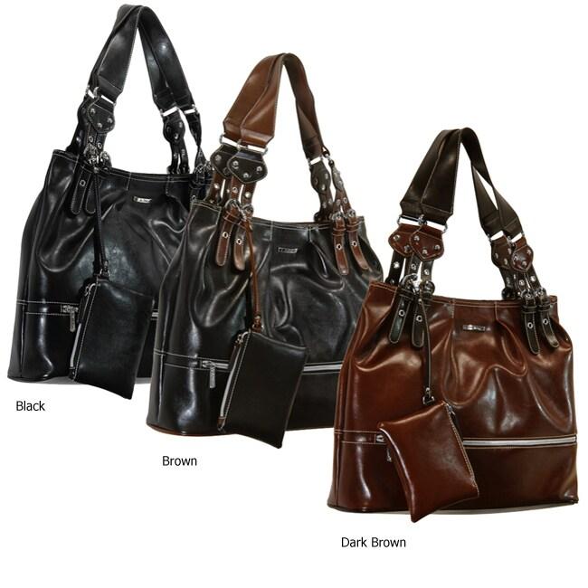 La Philipe Women's Dual-handle Shoulder Bag