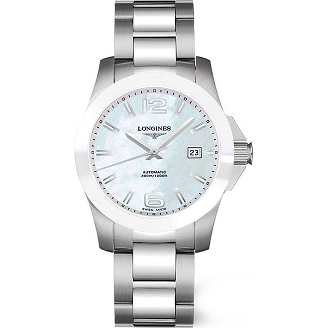 longines sport collection conquest s steel