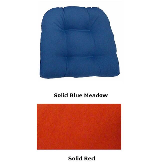 Outdoor UV-resistant Single U-shaped Chair Cushion