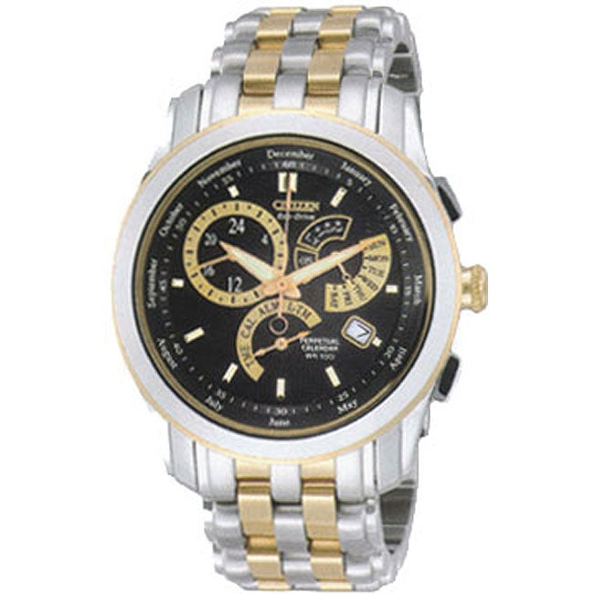 Citizen Calibre 8700 Eco-Drive Men's Two-tone Watch