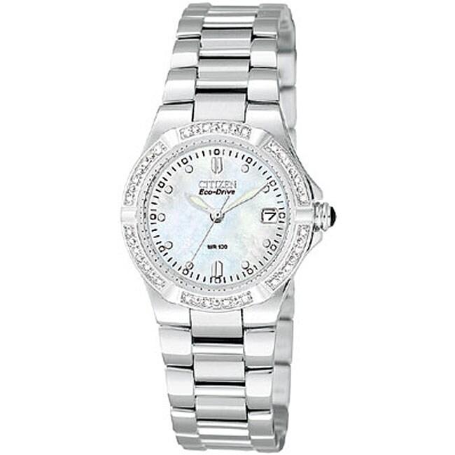 Citizen Eco-Drive Riva Women's Diamond Watch