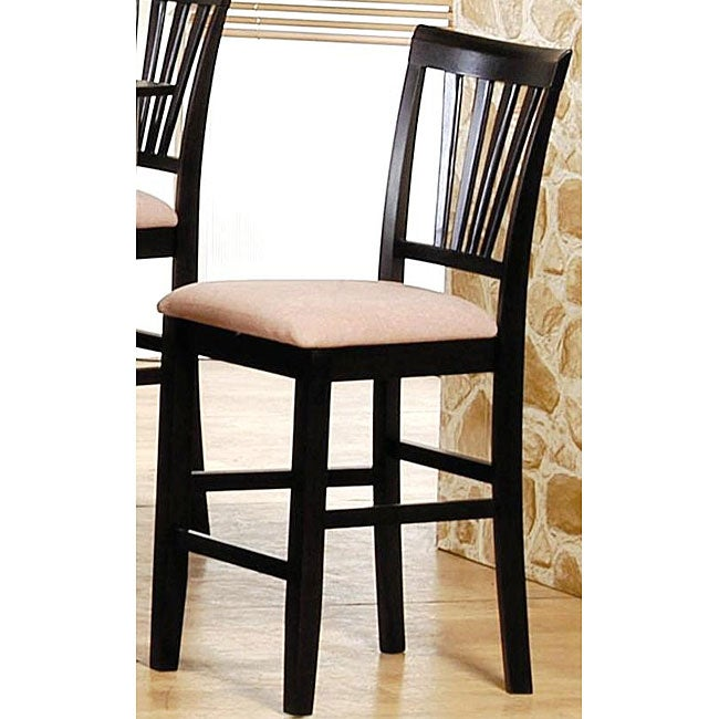 Tribeca Cappuccino Counter Stools Set Of 2 Free