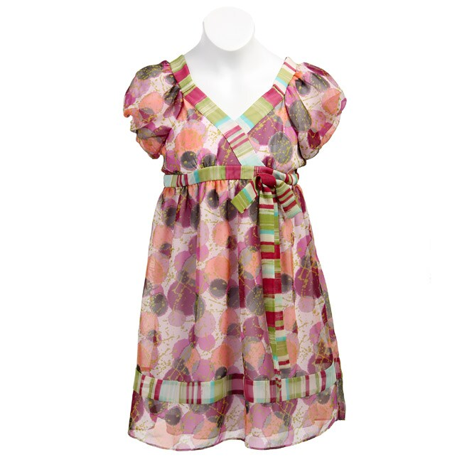 FINAL SALE Hype Girl's 'Hopscotch' Print Dress