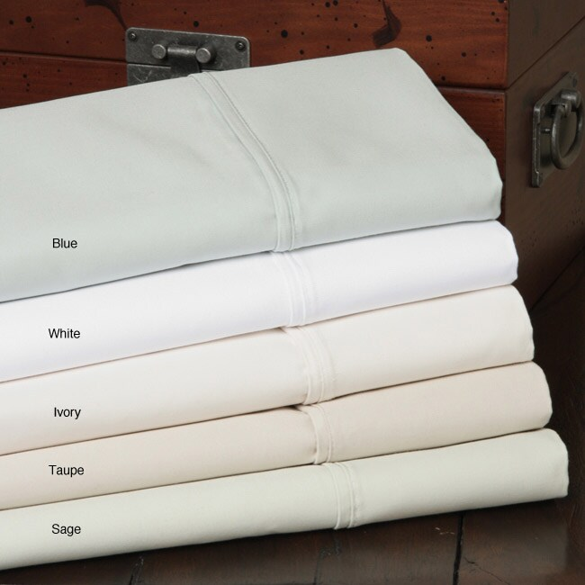 Sateen 1200 Thread Count 3-piece Duvet Cover Set