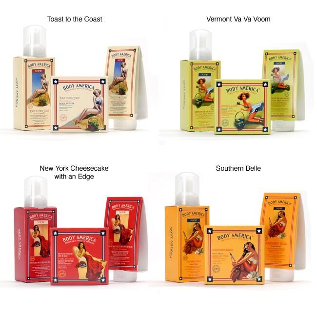 Body America Organic 3-piece Spa Pack