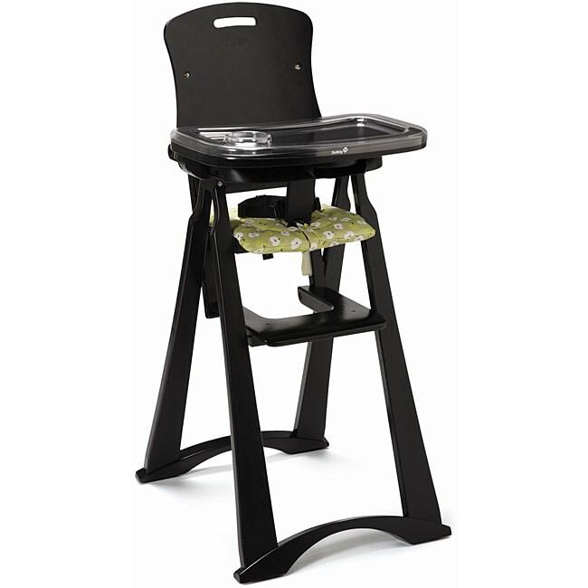 Safety 1st Feast n Fold Green Apple Wood High Chair Free – Safety 1st Wooden High Chair