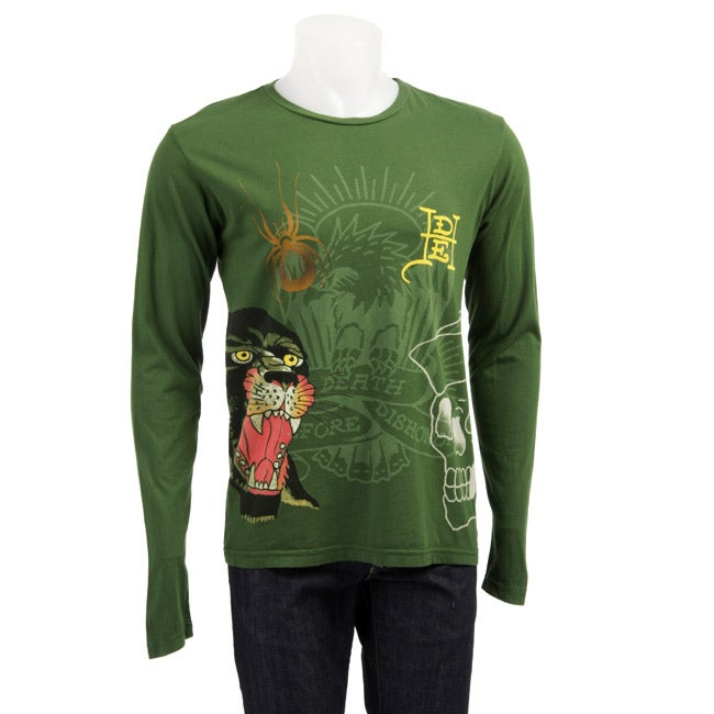 a78758f1 Ed Hardy Panther Men's Long-sleeve T-shirt