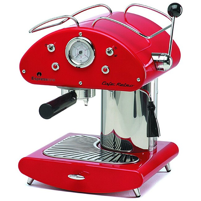 Espressione Cafe Retro Espresso Machine
