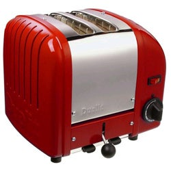 Dualit Two-slice Red Toaster