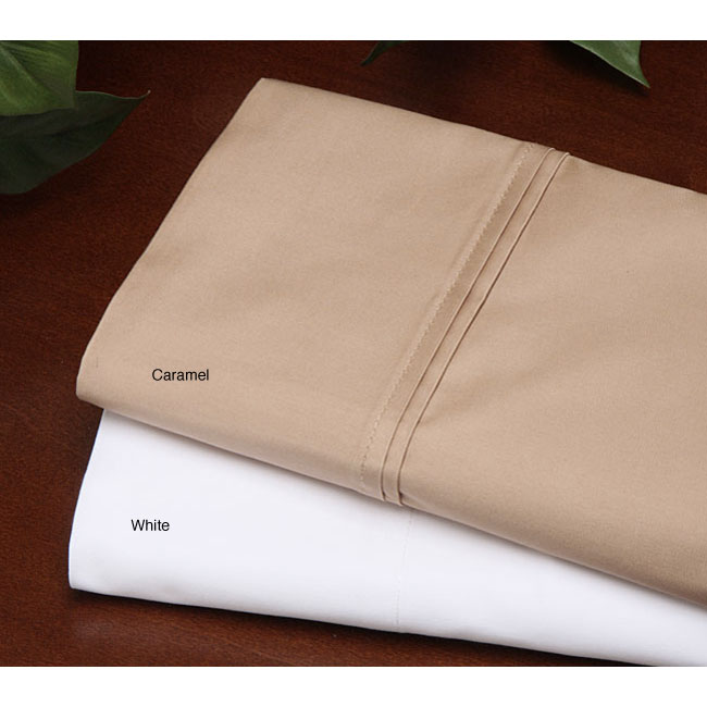 Shop Deluxe 500 Thread Count Compact Yarn Twin XL Sheet Set   Free