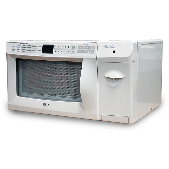 Countertop Microwave Lg : LG 0.9-cubic-foot Countertop Microwave with Built-in Toaster ...