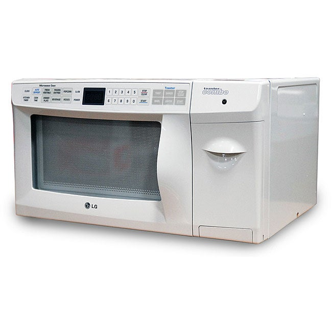 Lg Countertop Microwave With Trim Kit : LG 0.9-cubic-foot Countertop Microwave with Built-in Toaster ...