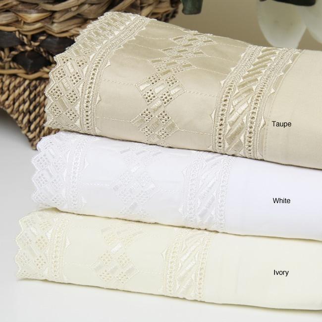 Tiara 450 Thread Count Cotton Sheet Set