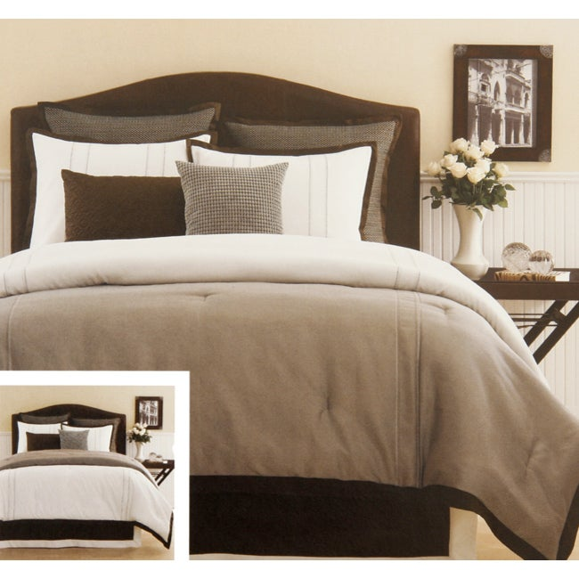Manor Hill Blanco 8-piece Comforter Set