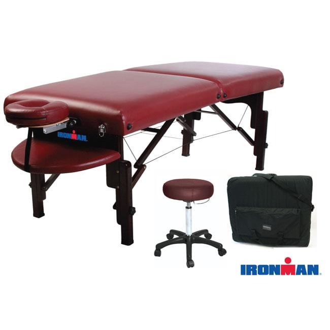 Ironman Keystone Massage Table Package