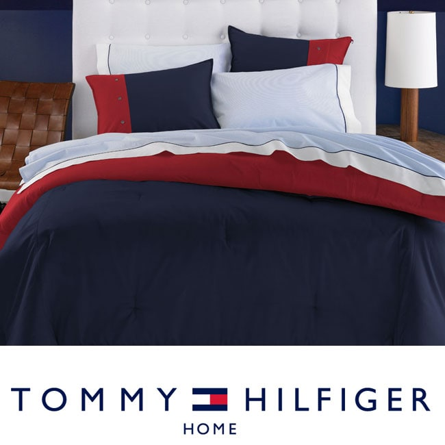 Shop Tommy Hilfiger Classic Chino Navy 7 Piece Bedding