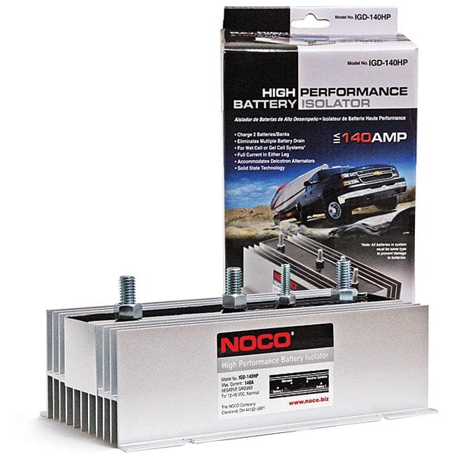 High Performance 140-amp Battery Isolator