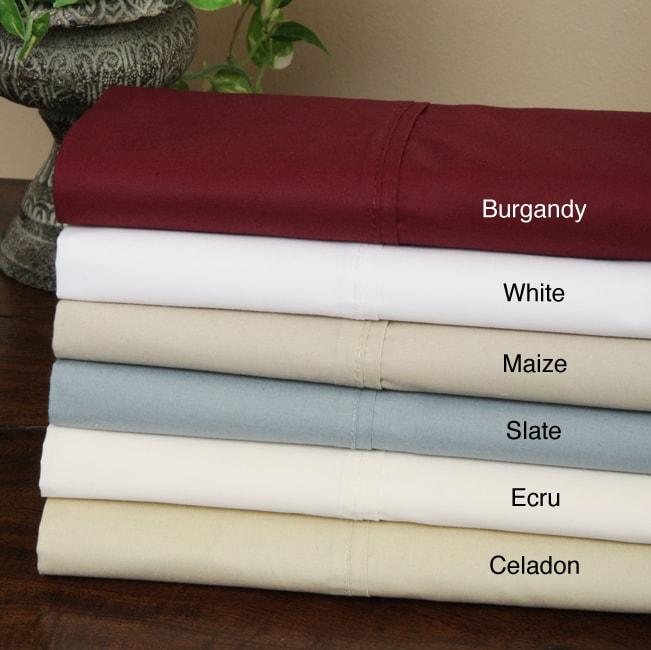 "Cottonova ""Europe's Finest"" 400 Thread Count Percale Sheet Set"