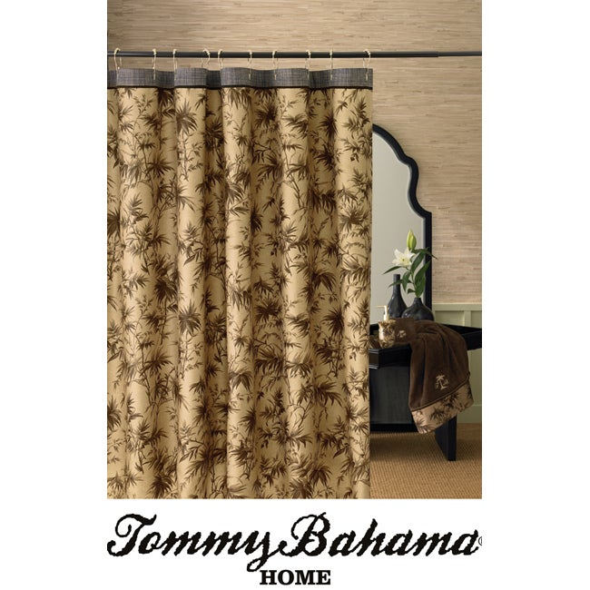 Tommy Bahama Amber Isle Brown Shower Curtain Free Shipping On Orders Over 45