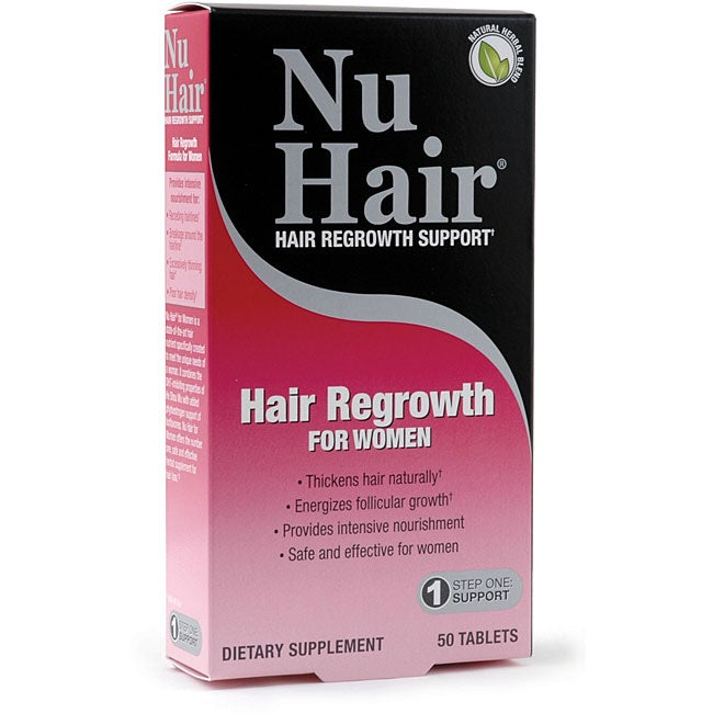 Natrol Nu Hair Women's Hair Regrowth Tablets (Pack of 2)