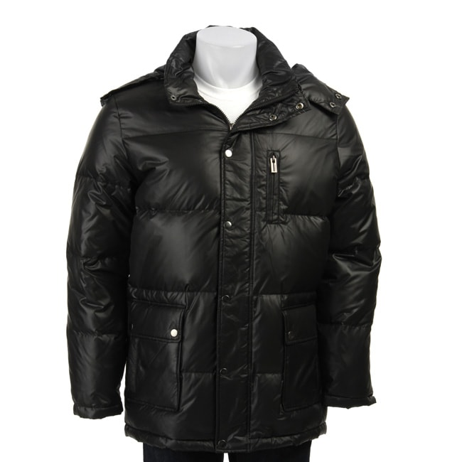 Guess Men's Black Down Jacket