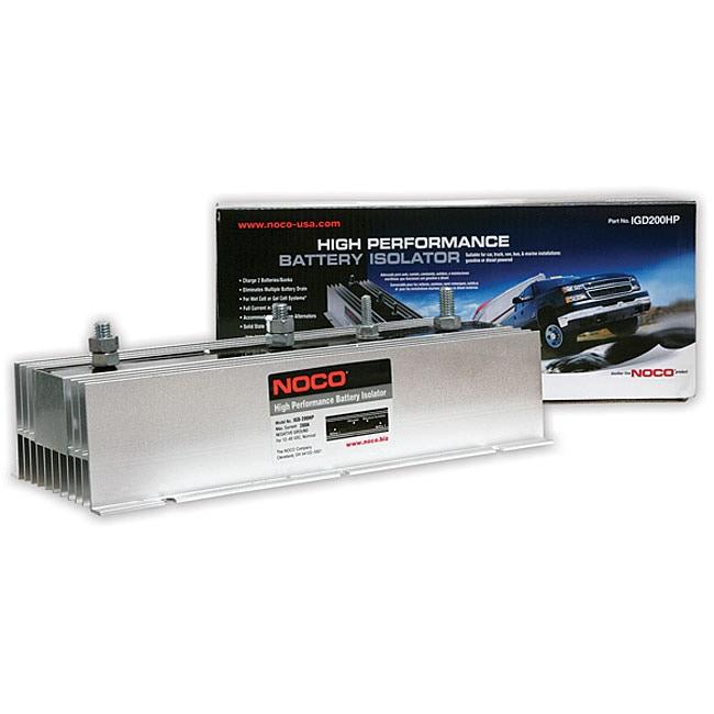 Noco 200-amp High Performance Battery Isolator