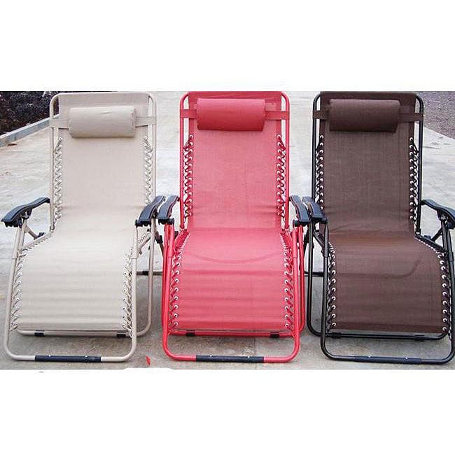 Extra Wide Zero Gravity Lounge Chair