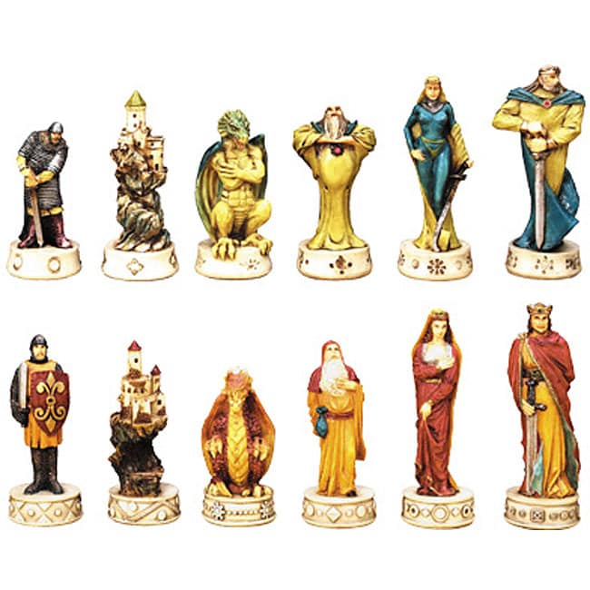 King Arthur Fantasy Chess Set Free Shipping Today